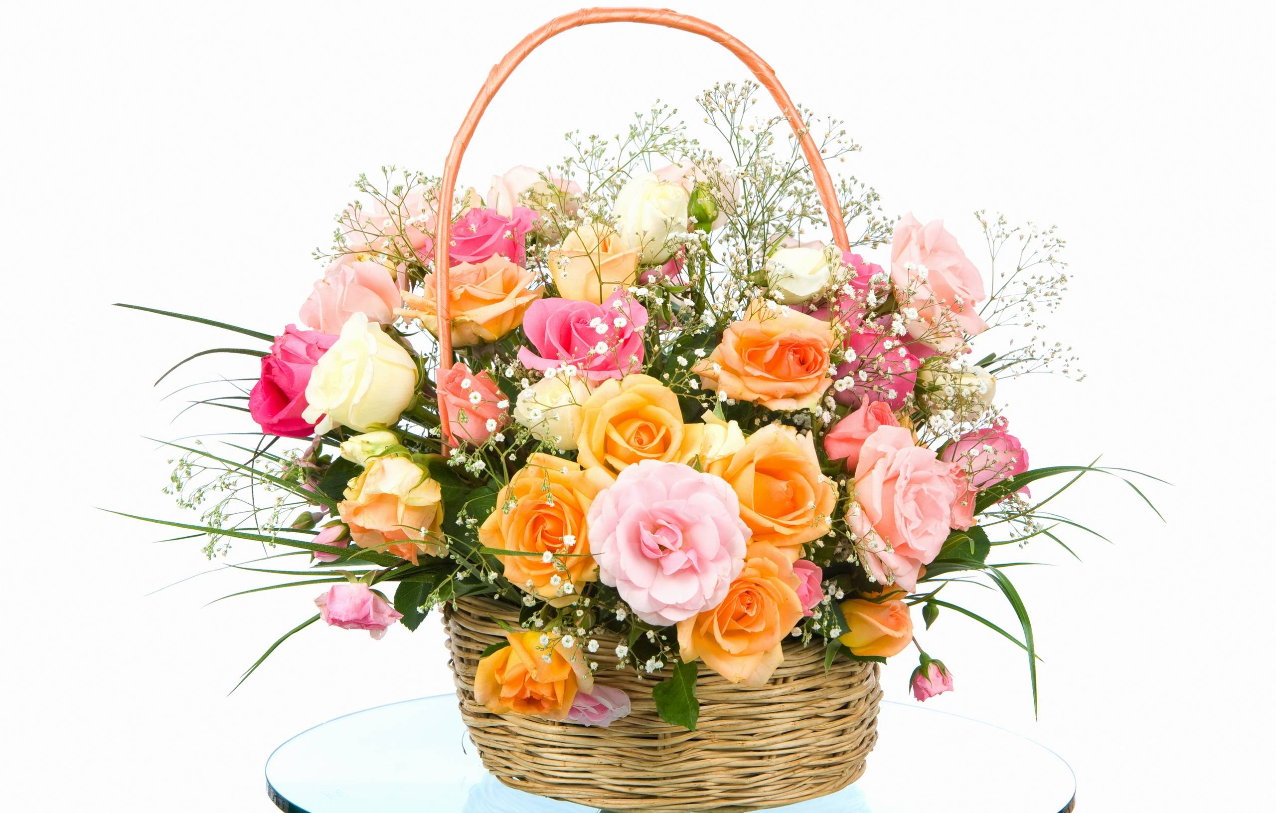 Beautiful flower baskets images :